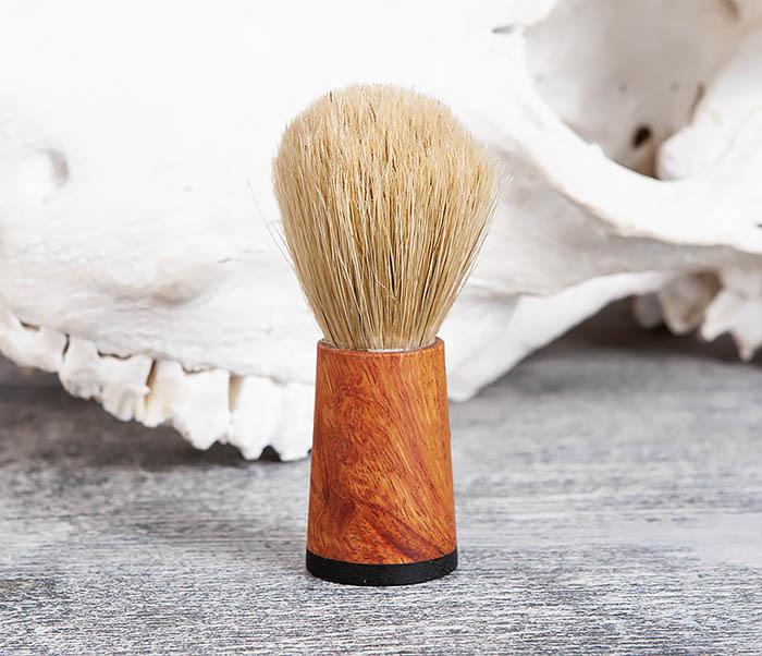 RAZ384 Помазок с рукояткой ручной работы из дерева