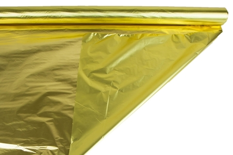 Полисилк металл 100 cм х 50м цвет: золотой