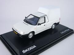 Skoda Felicia Pickup 1996 white Abrex 1:43