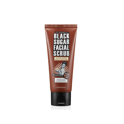 Скраб TOSOWOONG Black Sugar Scrub 100ml