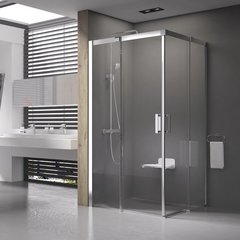 Душевой уголок с раздвижными дверями 80х80х195 см Ravak Matrix MSRV4-80/80 1WV44100Z1 фото