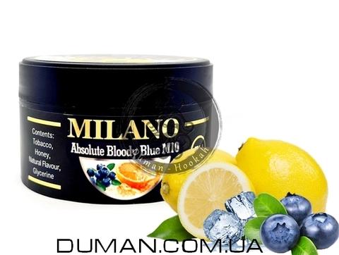 Табак Milano M10 Absolute Bloody Blue (Милано Лед Лимон Черника)