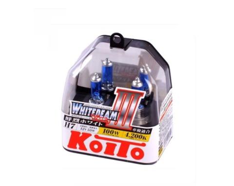 Автолампа H7 12V 55W (100W) (PX26d) 2шт. Whitebeam Koito