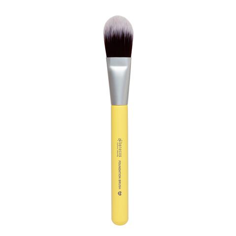 Кисть для основы под макияж цветная Benecos