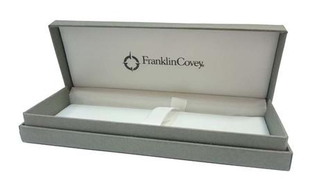 FranklinCovey Lexington - Black Chrome, ручка-роллер, M, BL