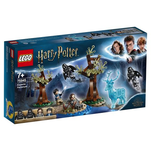 LEGO Harry Potter: Экспекто Патронум 75945 — Expecto Patronum — Лего Гарри Поттер