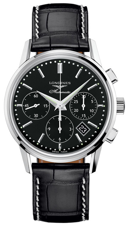The Longines Heritage Column Wheel Chronograph