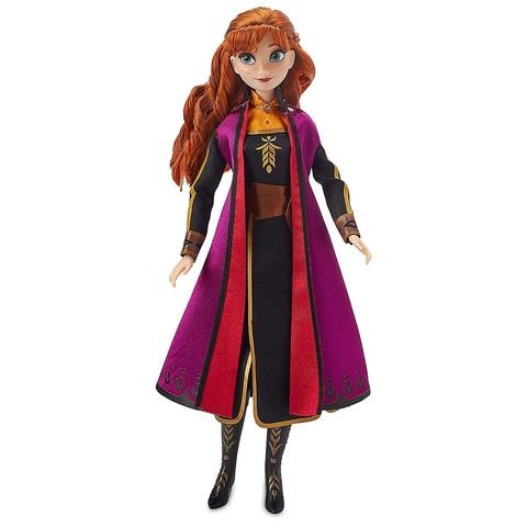 Дисней Холодное сердце 2 Анна поющая кукла 28 см