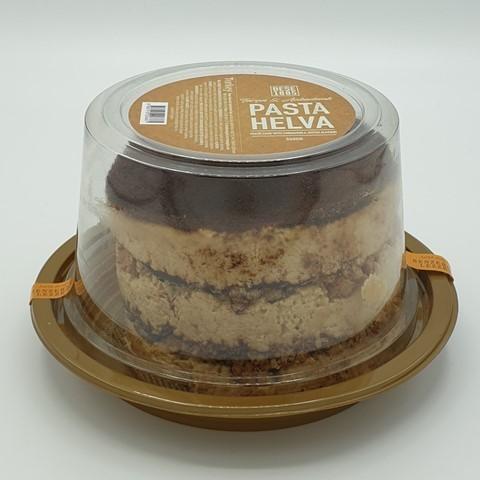 Халва (торт) тахинная с корицей и миндалем PASTA HELVA, 550 гр