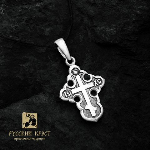 Крестик без распятия православный