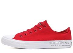 Кеды Converse All Stars II Low Red White