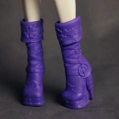 Фиолетовые сапожки для Монстер Хай
