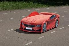 Кровать машина BMW  красная 180*80
