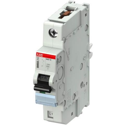 Автоматический выключатель 1-полюсный 25 А, тип B, 7,5 кА S401E-B25. ABB. 2CCS551001R0255