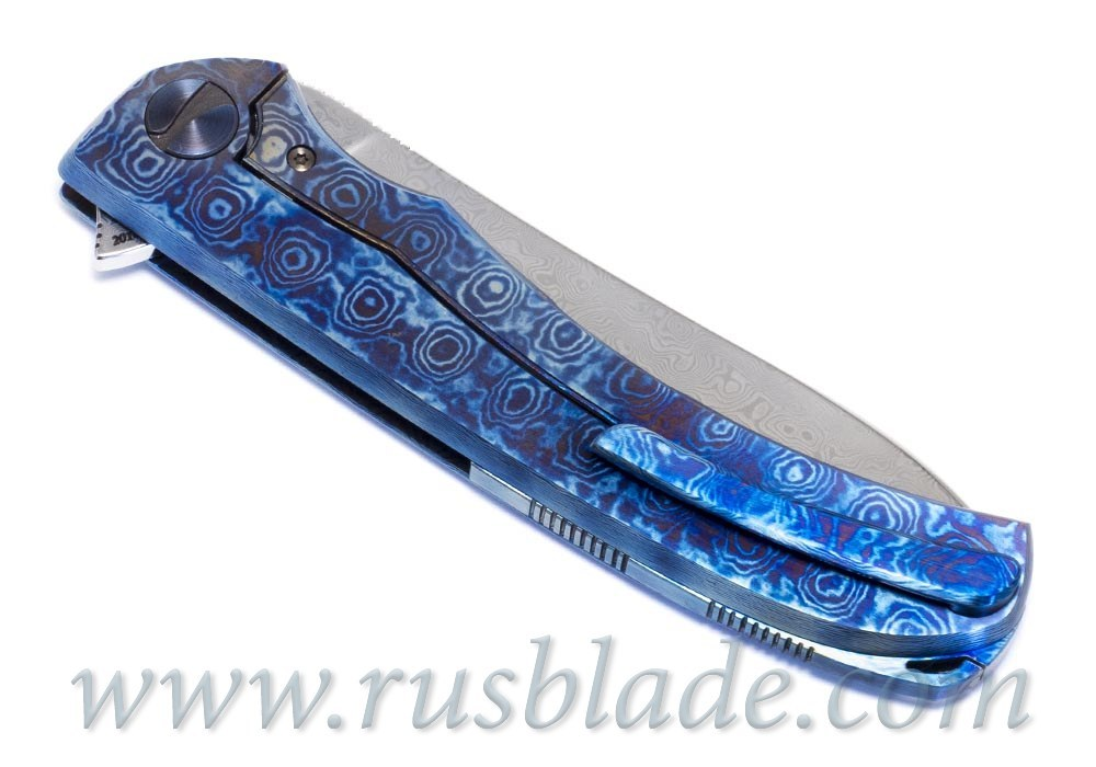 Cheburkov Frieze Damascus Custom Knife