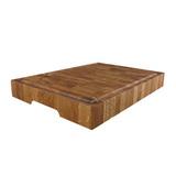 Доска торцевая разделочная, дуба черешчатый 30 х 20 х 4 см, артикул TD03001, производитель - Origins Wood