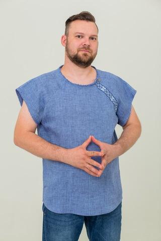 Мужская футболка льняная Богатырская