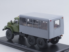 ZIL-131 shift work bus khaki-gray 1:43 Start Scale Models (SSM)