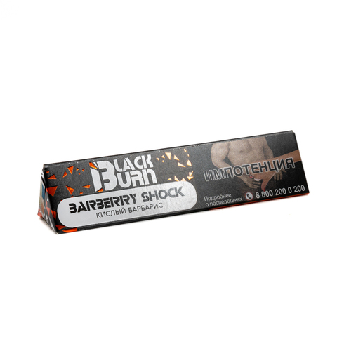 Табак Burn BLACK 20 г Barberry Shock
