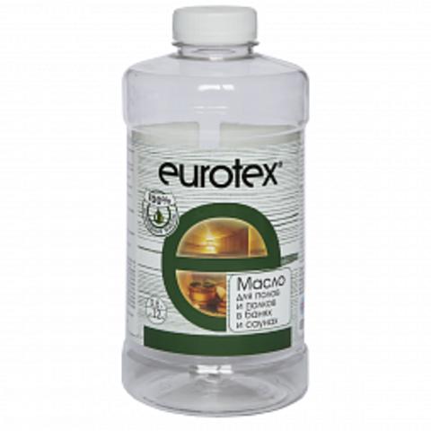Eurotex-Сауна масло для защиты полка 0,80 л.