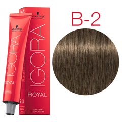 Schwarzkopf Igora Royal High Power Browns B-3 (Коричневый матовый) - Краска для волос