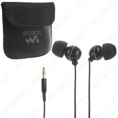 Наушники Sony для MP3 EX-088 проводные черный