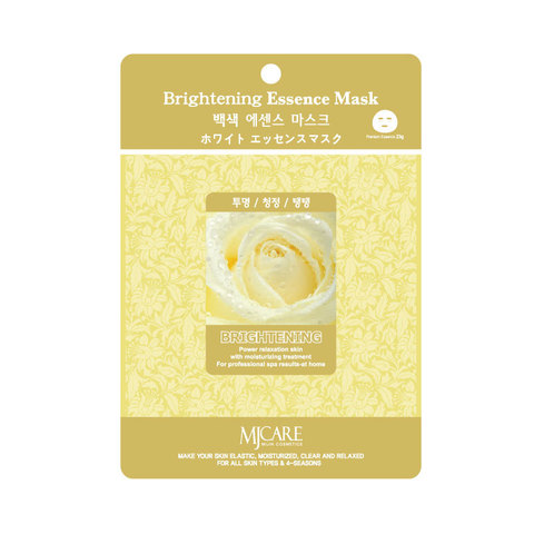 MIJIN Маска тканевая осветляющая Brightening Essence Mask