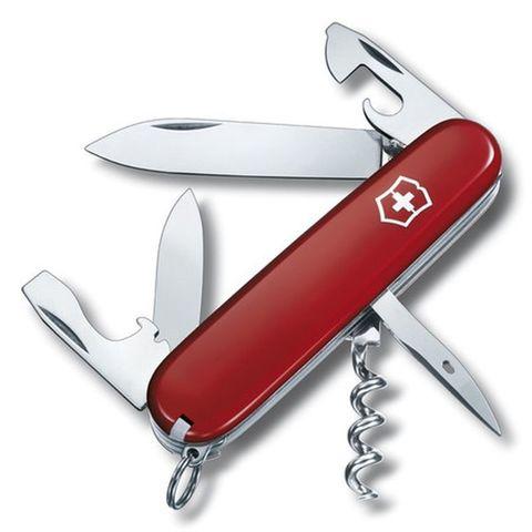 Нож перочинный Victorinox Spartan (1.3603.B1) 91мм 12функций красный блистер