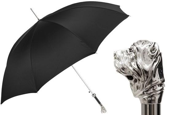 Зонт-трость Pasotti Silver Mastiff Umbrella, Италия (арт.478 Oxf-18 W96).