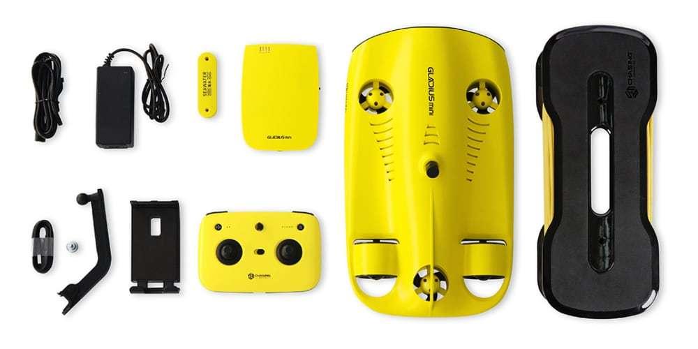 Подводный дрон Gladius Mini полный комплект