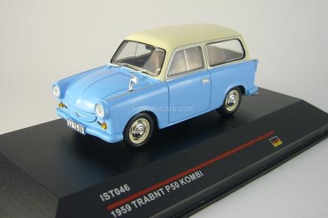Trabant P50 Kombi blue-beige 1959 IST046 IST Models 1:43