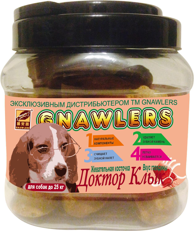 Лакомства Лакомство для собак до 25 кг Green Qzin Жевательная косточка Доктор Клык со вкусом говядины 361855866.jpg