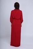 Платье для беременных 09450 красный