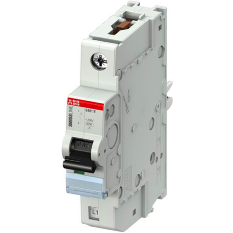 Автоматический выключатель 1-полюсный 32 А, тип B, 7,5 кА S401E-B32. ABB. 2CCS551001R0325