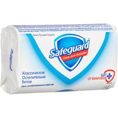Мыло туалетное Safeguard Классическое белое Антибактериальное 90 г