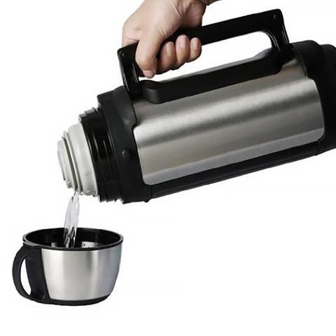 Термос универсальный (для еды и напитков) Tiger MHK-A (2 литра), серебристый