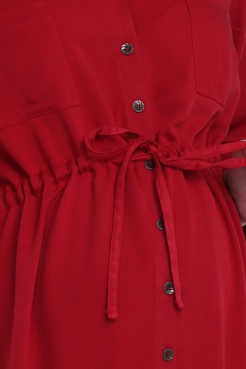 Фото платье для беременных EBRU, длинное от магазина СкороМама. красный, размеры.