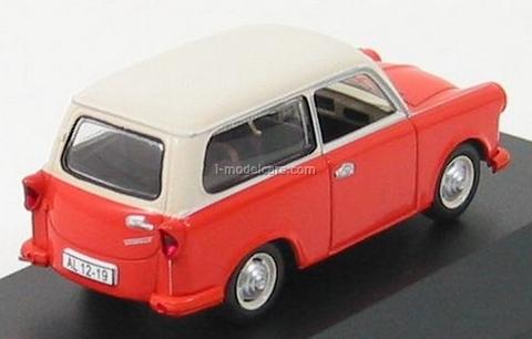 Trabant P50 Kombi orange-beige 1959 IST008 IST Models 1:43