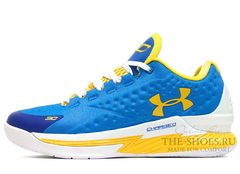 Кроссовки Мужские Under Armour Curry One Low Blue White Yellow