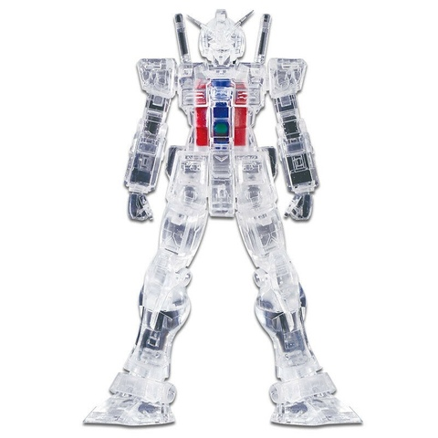 Фигурка Mobile Suit GunDam Internal Structure RX-78-2 (прозрачный)