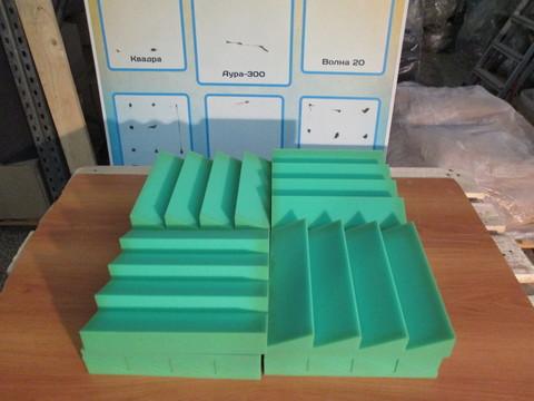 Акустический поролон Echoton Aura 300 (4шт) зеленый