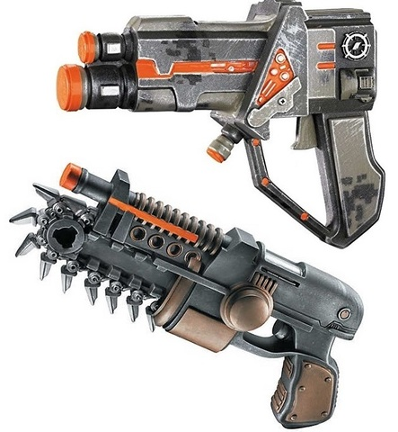 Красный сектор игрушки Оружие