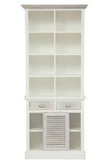 Шкаф книжный Secret De Maison Ривьера (RIVIERA) ( mod.2300А ) — Antique white/white wash