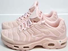Кроссовки женские розовые Nike Air Max TN Plus