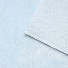 Замша искусств., голубая, лист 30х20 см