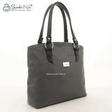 Сумка Саломея 411 серый + черный