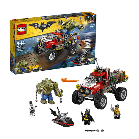 LEGO Batman Movie: Хвостовоз Убийцы Крока 70907 — Killer Croc Tail-Gator — Лего Бэтмен Муви Кино