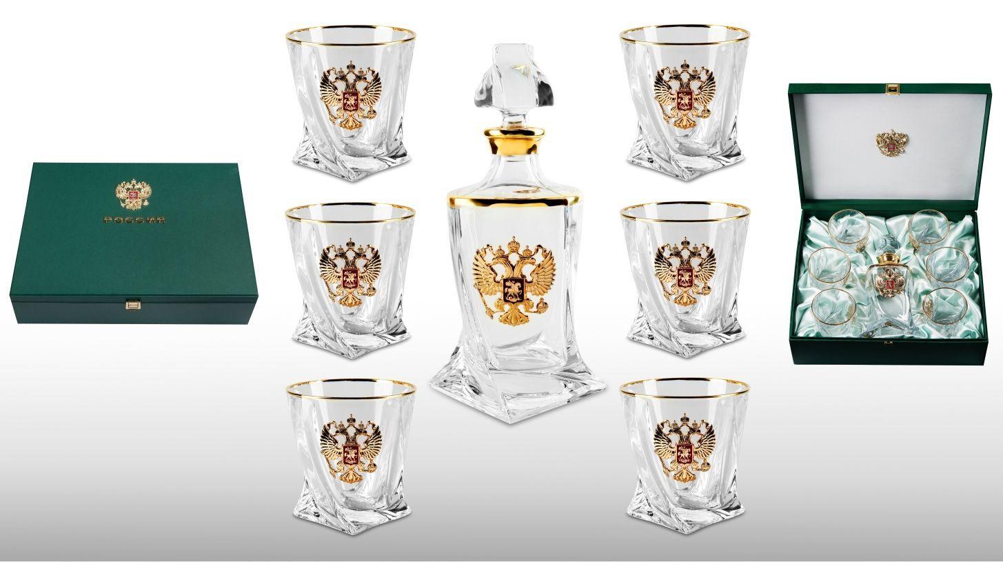 Подарочный набор для виски со штофом «Империал gold» комплекты детской одежды luvable friends подарочный набор расти со мной 8 предметов 07072
