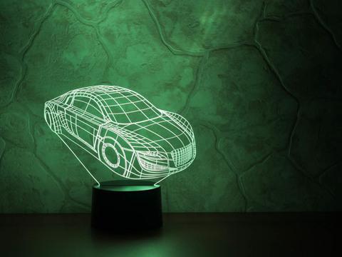 3D ночник Автомобиль