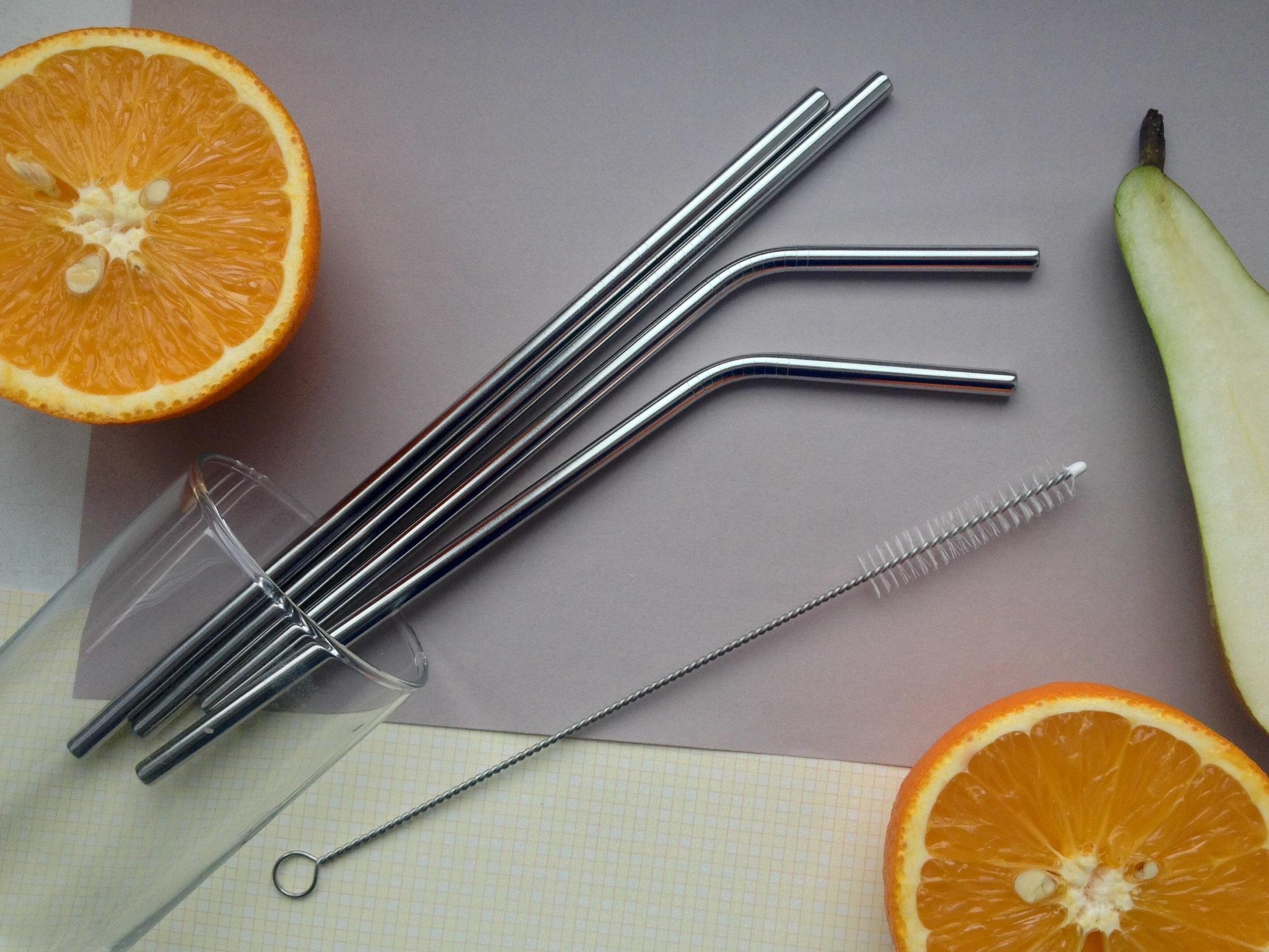 Набор металлических трубочек ZEERO